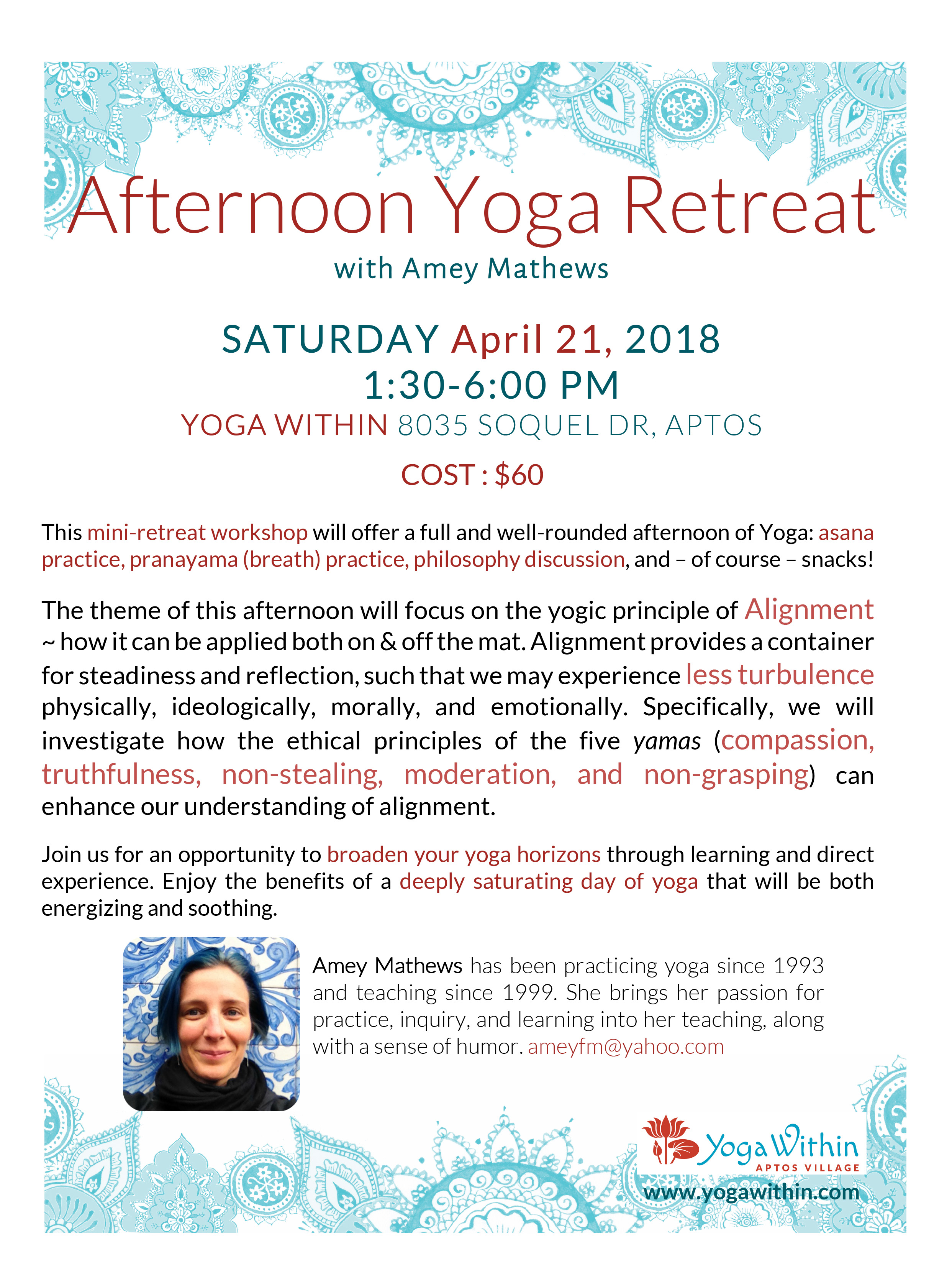 Microsoft Word - Afternoon Yoga Retreat April 2018.docx