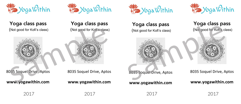 Microsoft Word - YW Class Passes 2017.doc